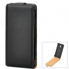 Classic Flip-open PU Leather Case for Sony Xperia P Lt22i - Black