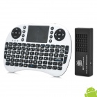 MK808C + Rii I8 Air Mouse Dual-Core Android 4.2.2 Mini-PC Google TV Player w / 1GB RAM / 8GB ROM
