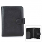 Lichee Pattern Protective PU leather Case for Amazon Kindle 4 / 5 - Black