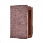 Country Style Protective PU Leather Case for Amazon Kindle Paperwhite - Brown