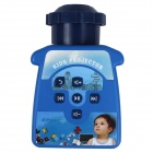 RuiQ RQ-A22 Mini Kids Children Educational Portable Cartoon Projector - Blue (3 x AA)