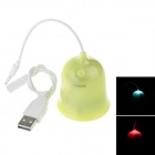 P908 High Quality Portable Speaker for Computer / Tablet / MP3 / MP4 / Ipod / Smartphone - Green