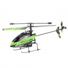 WLtoys V911 4-Channel 2.4GHz  R/C Helicopter w/ 130mAh Battery / Charging Cable - Green + Black