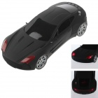 XY-K76 Cool Car Style Music Speaker MP3 Player w/ FM / TF Card Slot - Black
