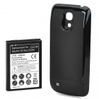 Replacement Back Case + 6200mAh Battery for Samsung Galaxy S4 Mini i9190 - Black + White