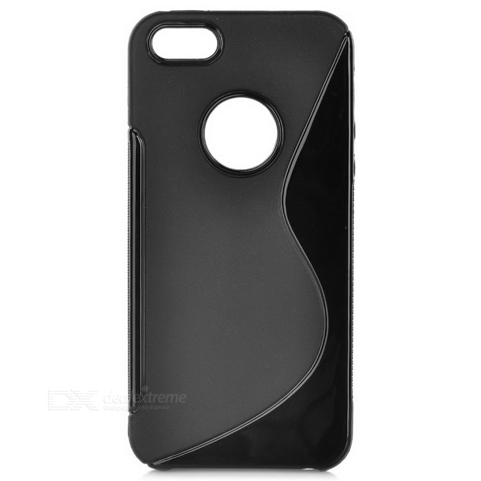AT330 Protective S Line TPU Back Case for Iphone 5 - Black