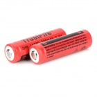 TrustFire IMR 3.7V 14500 700mAh Rechargeable Li-ion Batteries - Red (2 PCS)