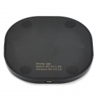 Universal Mini Qi Standard Wireless Charging Transmitter for Cellphone - Black