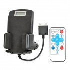 "1.2"" Screen Car Cigarette Lighter Powered FM Transmitter w/ RC for iPhone 4S / 4 / 3G / 3GS / 2G"