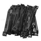 TPE140 Reusable PE Cable Ties - Black (50 PCS)