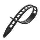 Reusable PE Cable Ties - Black (50PCS)