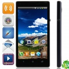 "JL35h Android 2.3.6 GSM Bar Phone w/ 4.7"", Quad-Band, FM and Wi-Fi - Black + Deep Blue"