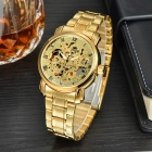 MCE 01-0060048 Hollow-out Full-Automatic Mechanical Watch for Men - Golden