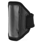Convenient Sporty Diving Fabric Arm Bag for Iphone 5C - Black