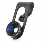 CP-67 Universal Clip On 0.67X Macro Angle + Microscope Lens for Iphone - Black