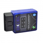 KD1 Car Vehicle ELM327 Bluetooth OBD2 V1.5 Code Reader Scanner - Blue