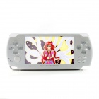 "KO G6000 Ultrathin 4.3"" Touch Screen MP5 Game Console w/ Study Function / Shooting - White (4GB)"