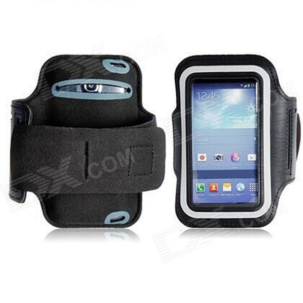 цена на Waterproof Armband Case for Samsung Galaxy S4 Mini i9190 - Black