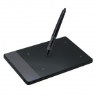 Huion 420 Portable Smart Stylus Digital Tablet Signatur Board - Svart