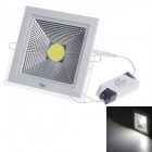 ZiYu ZY-0825-009 15W 1050lm 6500K LED White Light Square Ceiling Lamp - White (AC 100~265V)