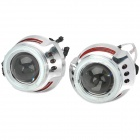 "3.0"" H1 / H7 / H4 / 9005 / 9006 35W 2800lm 6000K Bi-Xenon Projector Lens Angel Eyes (12V / 2 PCS)"