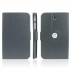 ENKAY ENK-7034 360' Rotation PU Leather Case Stand for Samsung Tab 3 7.0 T210 / T211 / P3200 - Grey