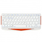 Seenda IBK-01 Super Slim Wireless Bluetooth V3.0 64-key  Keyboard w/ Tablet PC Stand - White
