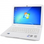 "G133 13.4"" Screen Laptop w/ Camera / RJ45 / Wi-Fi / HDMI / DDR3 2GB RAM / Atom D2600 - White"