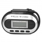 "FM-002 1,1 ""ЖК-экран 3,5 мм Wireless Stereo FM-передатчик для Iphone / Ipad / Ipod + More"