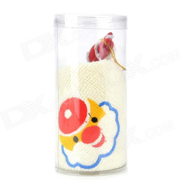 Christmas Towel - Beige + Red + Blue