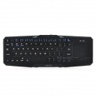 Seenda IBK-02 Wireless Bluetooth V3.0 75-key  Keyboard w/ Touch Panel + Tablet PC Stand - Black