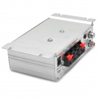 Lepai Aluminum Alloy Shell 268A HiFi 2-CH Stereo Car / Motorcycle Amplifier - Silver