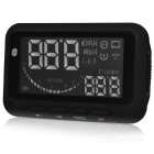 "F-02 2.8"" Screen HUD Head Up Display System for Car - Black"