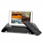 "ZONEWAY 4-Channel / H.264 / D1 Resolution DVR Surveillance System w/ 7"" Detachable LCD Screen- Black"