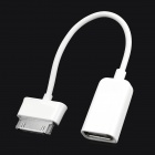 Micro USB Male to 30 Pin Connector Female OTG Cable for Samsung N8000 + More - White (15cm)