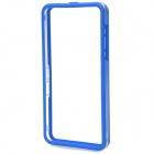 Simple Classic Plastic Bumper Frame Case for Blackberry Z10 - Blue + Transparent