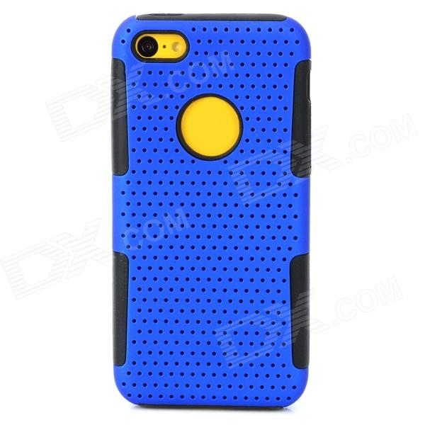 Protective PC + Silicone Back Case for Iphone 5C - Blue + Black ada instruments построитель лазерных плоскостей ada cube mini professional edition