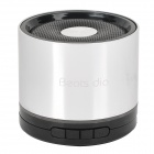 BD-20 Stylish Mini 3W Speaker w/ USB 2.0 / TF / FM Radio - Black + Silver