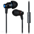 AWEI TE800i In-Ear Earphones w/ Microphone / Clip - Black (3.5mm Plug / 130cm-Cable)