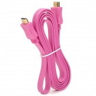 1080p HDMI V1.4 Male to Male Connection Cable - Deep Pink (180cm)