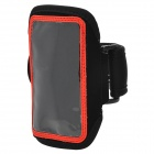 Sports Gym Neoprene + PVC Armband Case for Iphone 5C - Red + Black