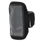 Sports Gym Neoprene + PVC Armband Case for Iphone 5C - Black
