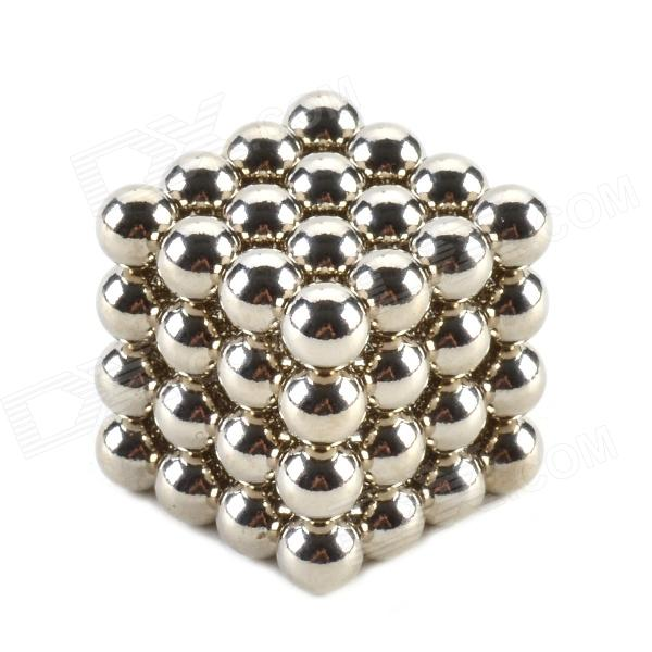 CHEERLINK 8mm Neodymium Iron DIY Educational Toys Set - Silver (64 PCS) cheerlink xb 01 3mm diy magnet balls neodymium iron educational toys set silver white 432 pcs