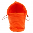 Outdoor-Kälte-Proof Wind-Proof Verdickung Keep Warm Masked Velvet Cap - Orange