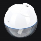 USB Powered Piggy Style Ultraschall Luftbefeuchter Diffusor mit Touch Key + LED Licht - Weiß + Blau