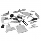 22-Piece Replacement Spare Parts for Iphone 5 - Silver