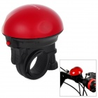 UFO Shape Bicycle Electronic Plastic Horn - Black + Red (2 x VAVTT LR1)