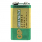 GP 1604G 6F22  9V Extra Heavy Duty Cell Battery - Green