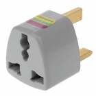 Songying Compact Universal UK Travel Power Plug Adapter - Grey