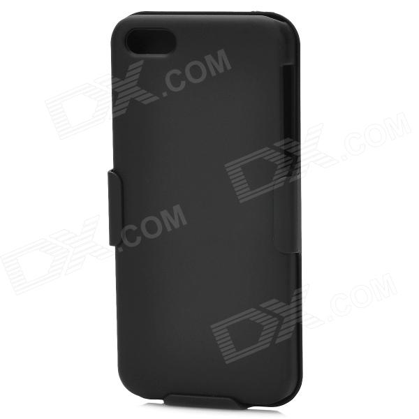 все цены на  Protective ABS Back Case w/ Clip / Stand for Iphone 5C - Black  онлайн